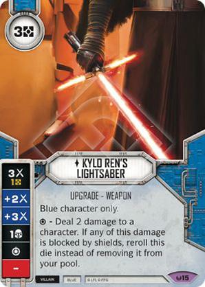 Spada Laser di Kylo Ren