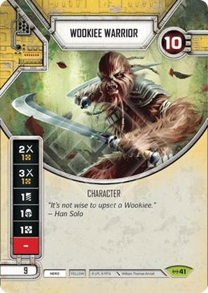 Guerriero Wookie