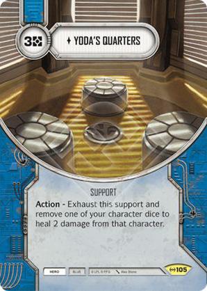 Alloggi di Yoda