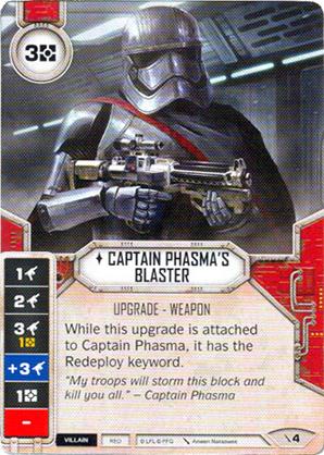 Blaster del Capitano Phasma