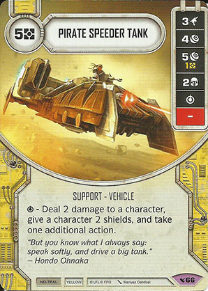 Carro Speeder Pirata