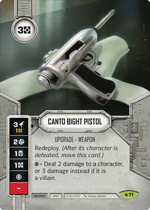 Pistola di Canto Bight