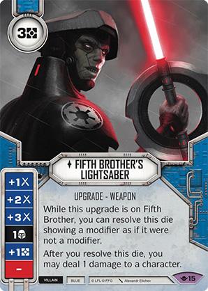 Spada Laser del Quinto Fratello