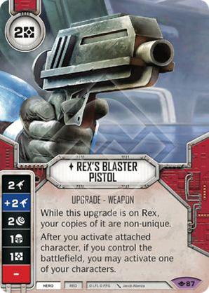 Pistola Blaster di Rex