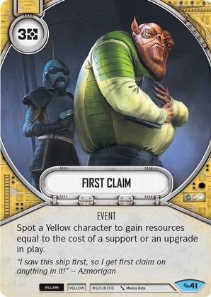 First Claim