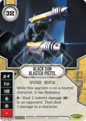Black Sun Blaster Pistol