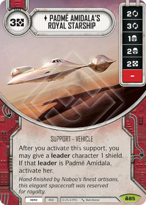 Padmé Amidala's Royal Starship