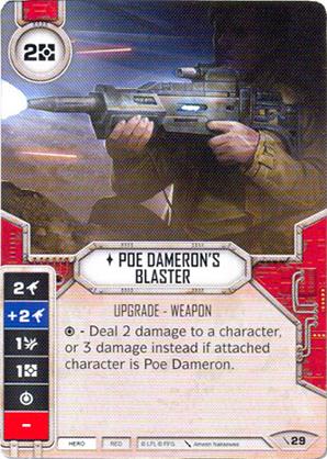 Blaster di Poe Dameron