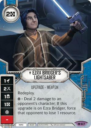 Spada Laser di Ezra Bridger
