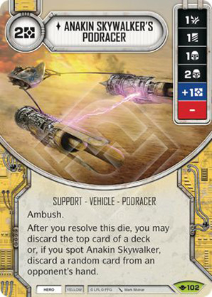 Sguscio di Anakin Skywalker