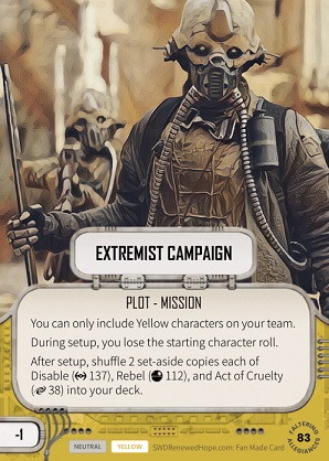 Extremist Campaign