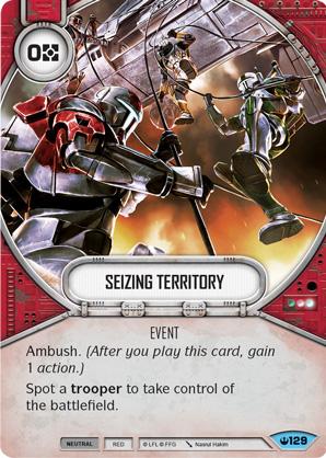 Seizing Territory